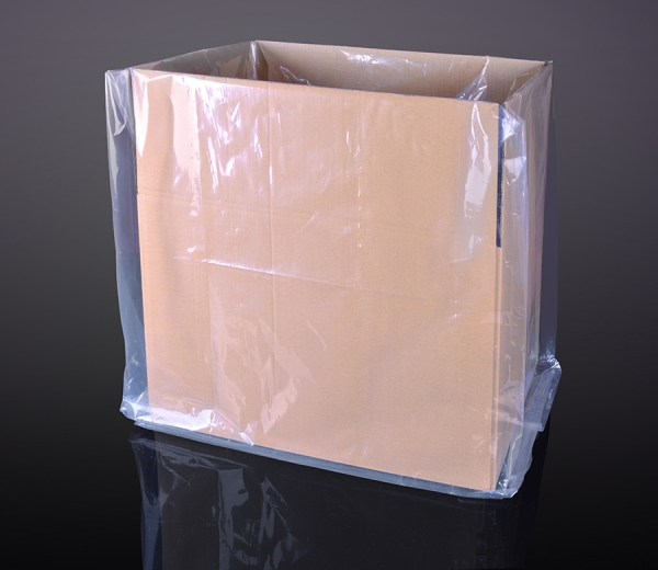 Polyethylene bags for boxes